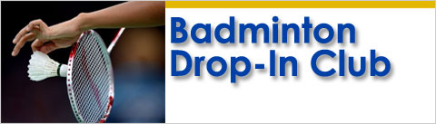 Badminton Drop in program